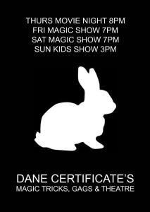 Family Magic Shows @ Dane Certificate's Magic Shop and Theatre | Brunswick | Victoria | Australia