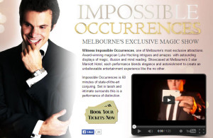 Impossible Occurrences @ Marriott Hotel | Melbourne | Victoria | Australia