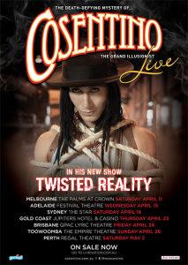 Cosentino - Twisted Reality @ Regal Theatre | Xenia | Ohio | United States