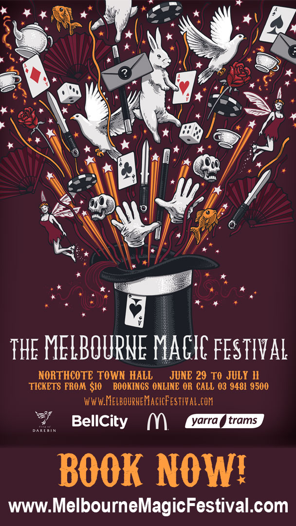 Melbourne Magic Festival @ Northcote Town Hall | Northcote | Victoria | Australia