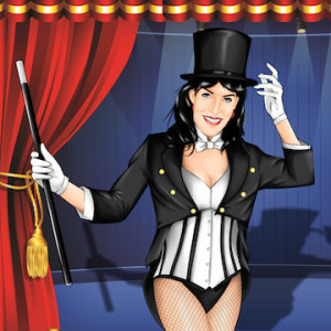 Zatanna, Magic from Z...to...A @ Hellenic Club | Perth | Western Australia | Australia