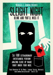 Sleight Night @ The Laneway Theatre | Northcote | Victoria | Australia