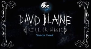 TV: David Blaine - Real or Magic @ Channel Nine