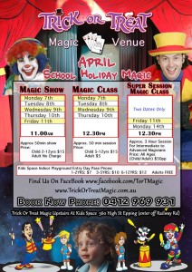 Trick or Treat Magic Show @ Kids Space | Epping | Victoria | Australia