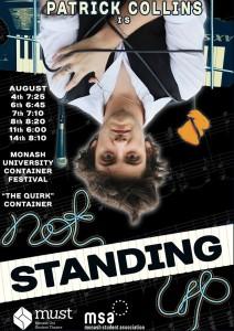 Not Standing Up @ Monash University Clayton