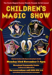 Geniis Children's Magic Show @ Merrylands Community Centre | Merrylands | New South Wales | Australia