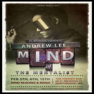 Mind of the Mentalist: Mind Reading and Magic @ The Hidden Bar | Northbridge | Western Australia | Australia