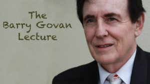 The Barry Govan Lecture @ Redbrick Hotel | South Brisbane | Queensland | Australia