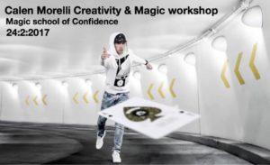 CALEN MORELLI - Magic & Creativity workshop @ The Magic School of Confidence | Malvern East | Victoria | Australia