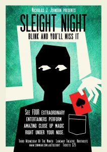 Sleight Night @ The Laneway Theatre | Northcote | Victoria | Australia