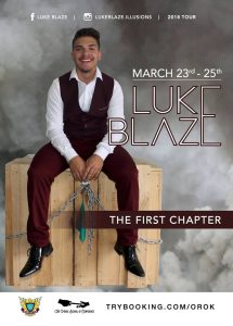 Luke Blaze - The First Chapter @ Marcellin College | Bulleen | Victoria | Australia