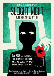 Sleight Night - Close Up Magic Every Month @ The Laneway Theatre