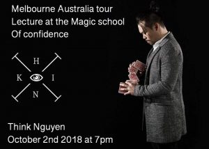 Think Nguyen Melbourne Lecture @ The Magic School of Confidence | Malvern East | Victoria | Australia