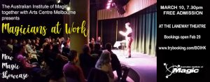 Magicians At Work Show @ The Laneway Theatre