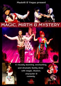 Magic, Mirth & Mystery @ Sorrento Hall