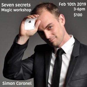 Seven Secrets - Simon Coronel Session @ The Magic School Of Confidence