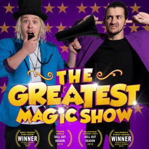 The Greatest Magic Show @ Lotterywest De Parel Spiegeltent at The Woodside Pleasure Garden